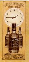 """JD Nostalgic Tin Sign and Neon Clock"""