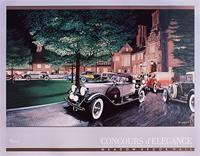 """1988 Meadow Brook Concours d'Elegance Poster"""