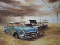 """'57 Chevys in a Storm"""