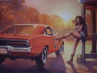 """Daisy Duke & General Lee"""