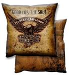 """Good For the Soul Throw Pillow"""