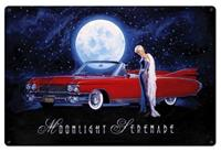 """Moonlight Serenade Metal Sign"""