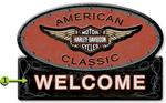 """American Classic Welcome Sign"""
