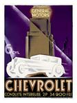 """Cheverolet Atuomobile Poster"""